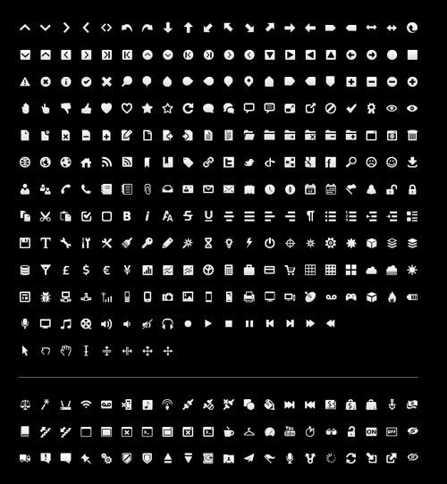 FREE TOOLBAR ICONS FOR INTERFACE OR GUI DESIGNER   Icons Sets ...