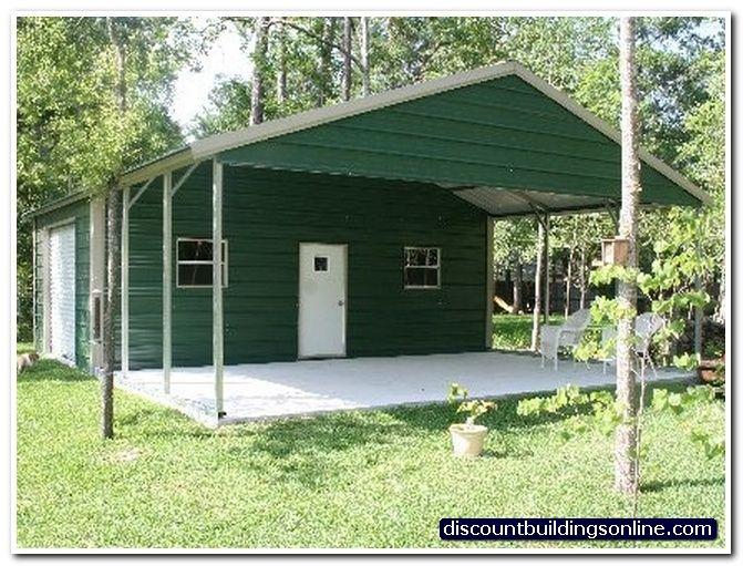 24x30 Carport With Attached Garage Carport Pinterest Carport Carport With Storage Attached Garage