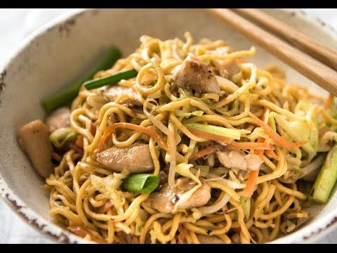 Proper Chicken Chow Mein | RecipeTin Eats