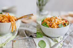Alles und Anderes: Mitgebracht aus Neuseeland: Pasta mit Lachs, getro...