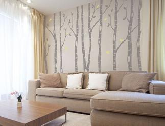 stickers murali floreali per il soggiorno | Bathrooms in 2018 ...