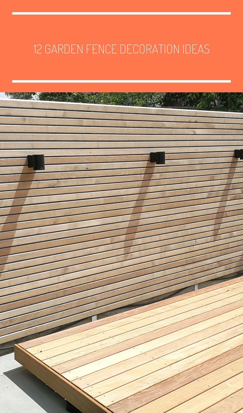 12 Garden Fence Decoration Ide Sichtschutz Sichtschutz Larche
