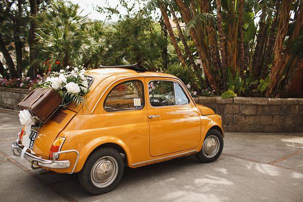 Cute fiat wedding Italian style..