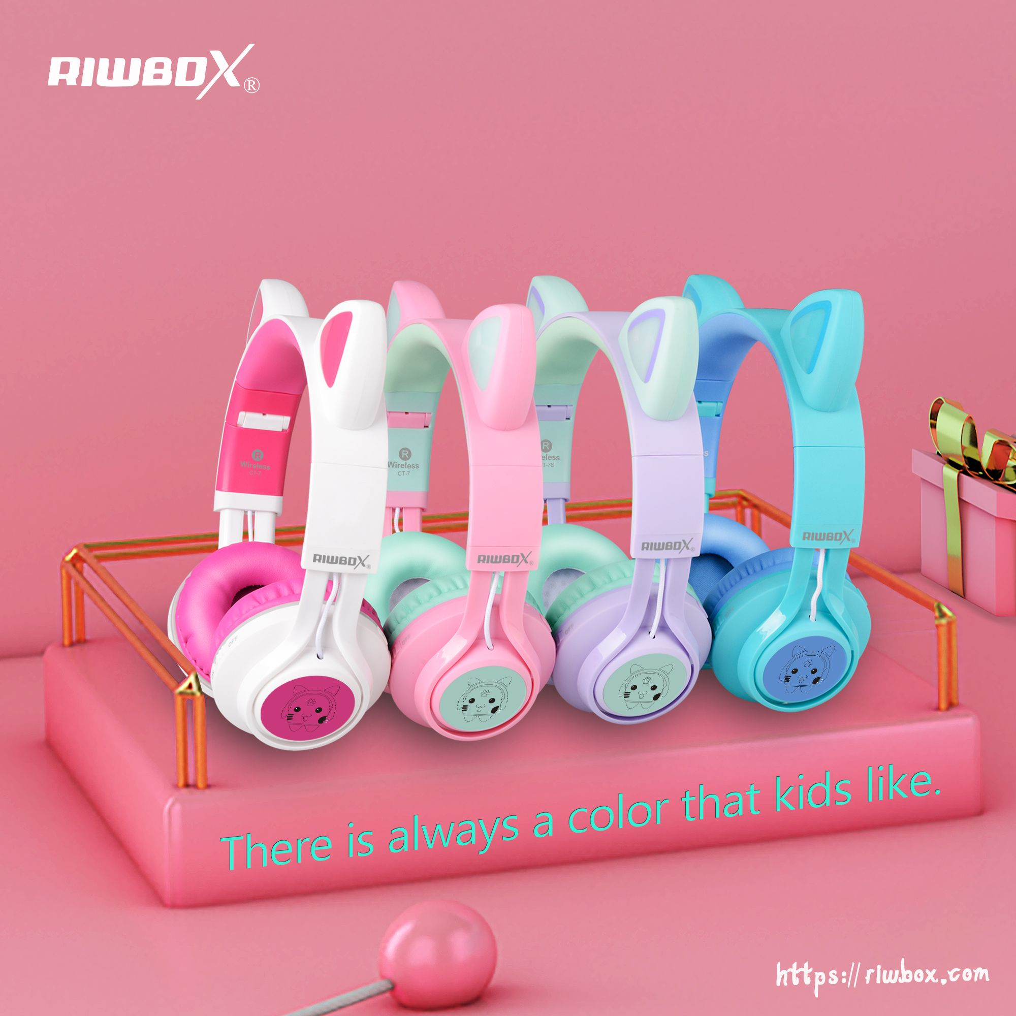 Kids Headphones For Xmas Gift Kids Headphones Cute Headphones Cat Headphones