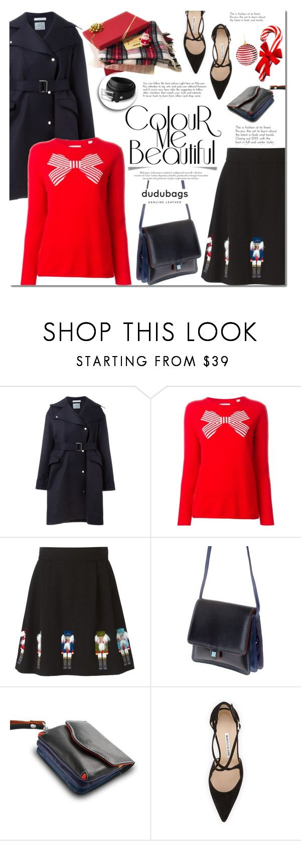 """""""Dudubags.com"""" by mada-malureanu ❤ liked on Polyvore featuring J.W. Anderson, Chinti and Parker, Olympia Le-Tan, DUDU, Manolo Blahnik and dudubags"""