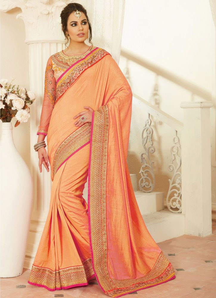 7c81f30098ac Designer Saree Sari Traditional Indian Bollywood Party Evening Bridal Ethnic  #NA #Sari