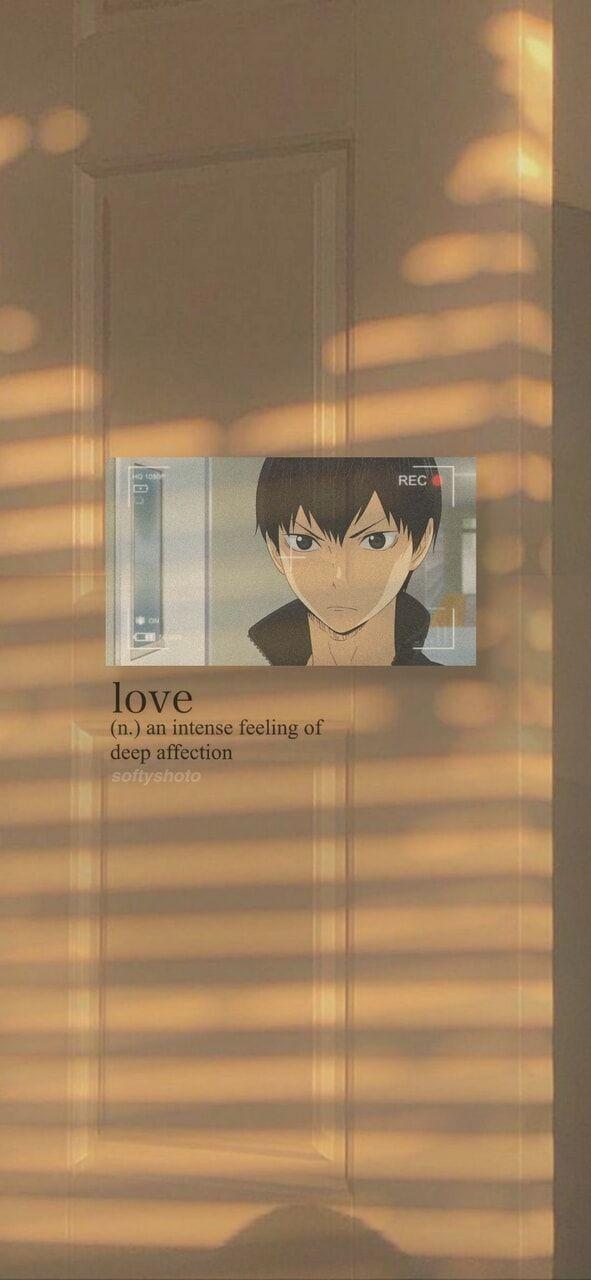 haikyuu lockscreen shared by Rin Tobio on We Heart It