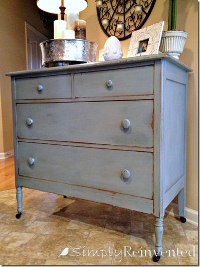 Chalk/Clay Paint In Smoky Mountain Gray
