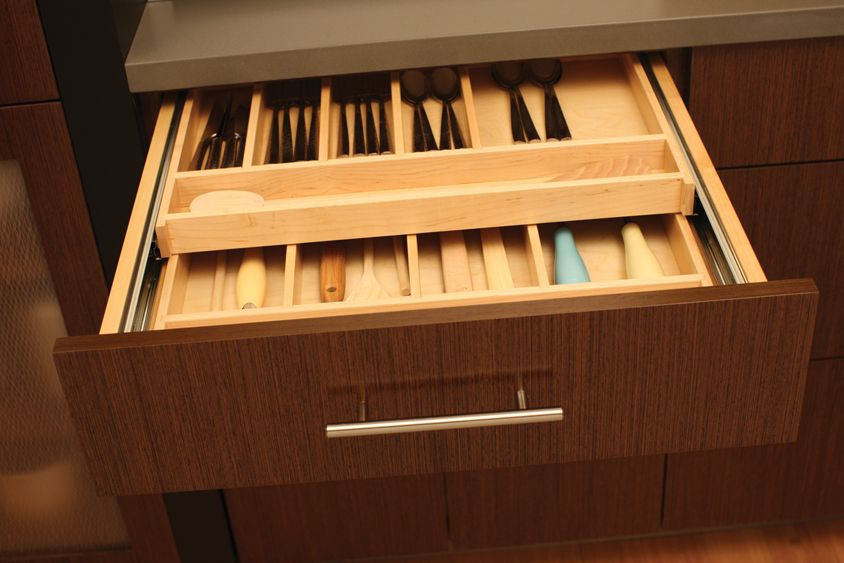 Silverware storage kitchen storage kitchen for Silverware storage no drawers