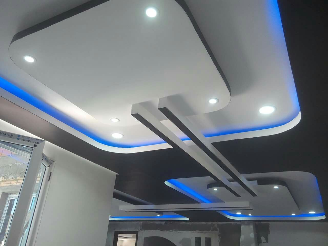 Modern Ceiling Design, False Ceiling Design, False Ceiling Ideas, Gypsum  Ceiling, Plasterboard, Pop Design, Ceilings, Cities, Modern Decoration