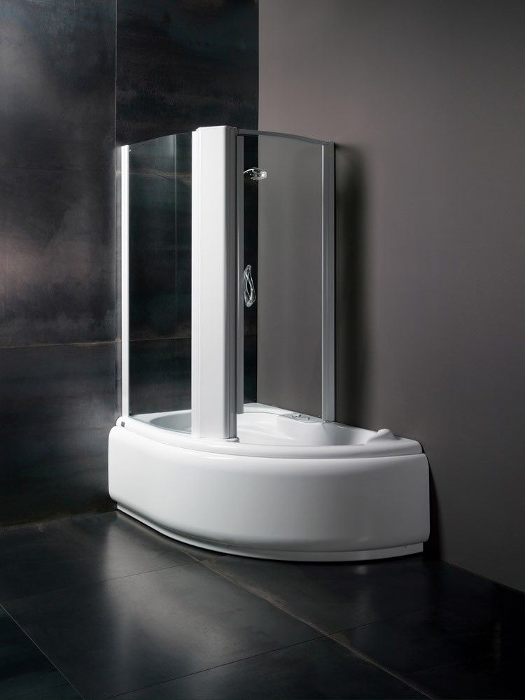 Glass vasca lis 150 x 100 vasca combi - Vasche da bagno combinate prezzi ...