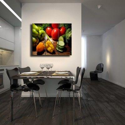 cuadros para decorar comedores grandes | HABITACIONES - Cocina in ...