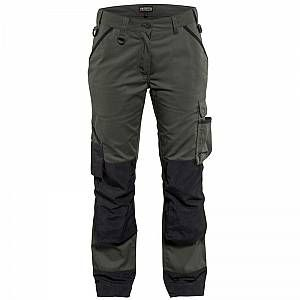 Photo of BLAKLADER Pantalon de travail femme Blaklader paysagiste Vert Army / Noir 48
