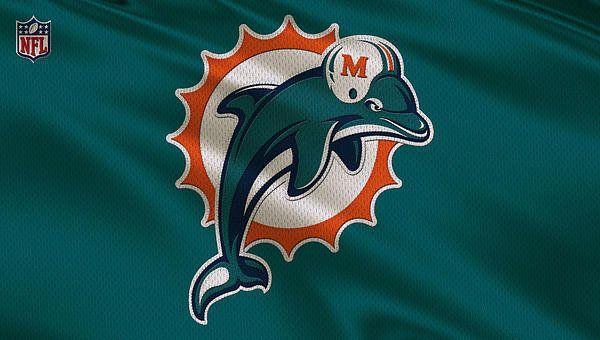 Miami Dolphins Uniform Art Print by Joe Hamilton | Miami ...
