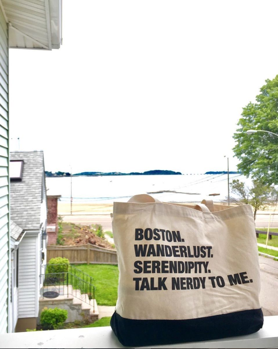 The 4-Things Tote Bag is a personalized gift for our time. | Just ...