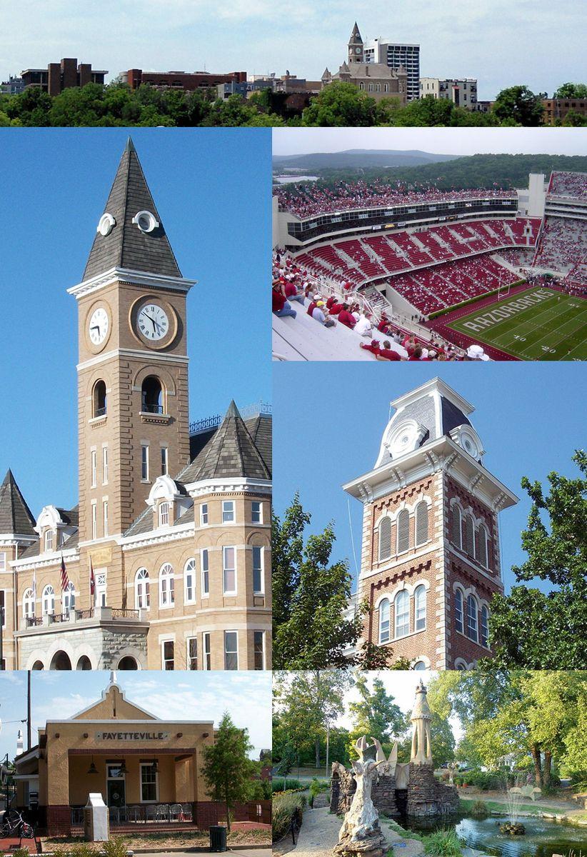 University Best Places To Live Arkansas Fayetteville Arkansas