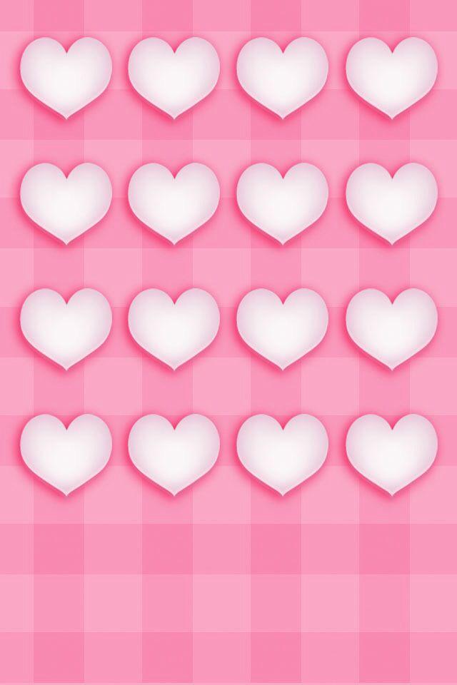 Heart Home Screen Iphone Homescreen Wallpaper Cute Home Screens Iphone Wallpaper