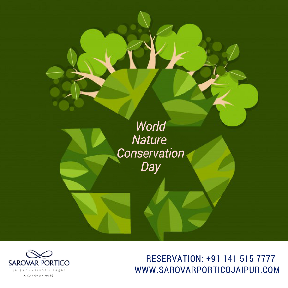 Celebrated On July 28 Each Year World Nature Conservation Day Recognizes That A Healthy Environment Is The Foun Nature Conservation Healthy Environment Nature