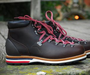 Moncler V Leather Mountain Boots
