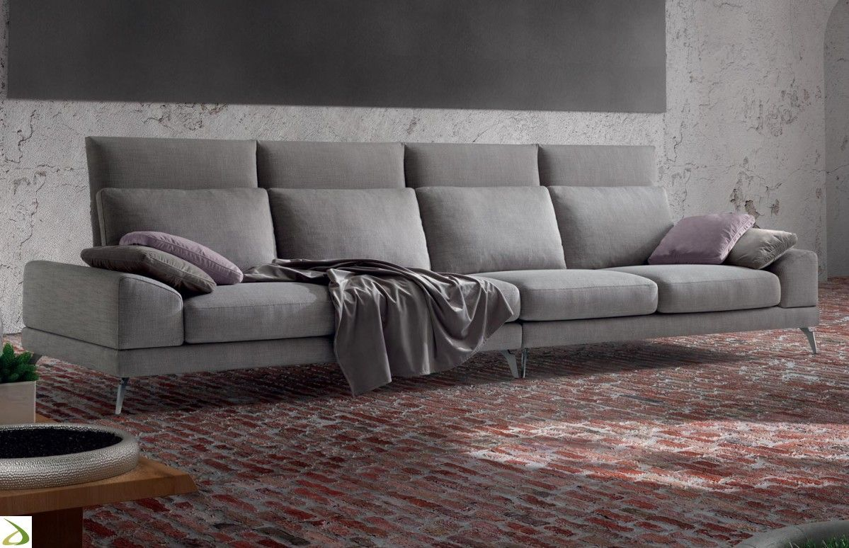Divano con schienale alto basso o Zuper | Arredo Design Online ...