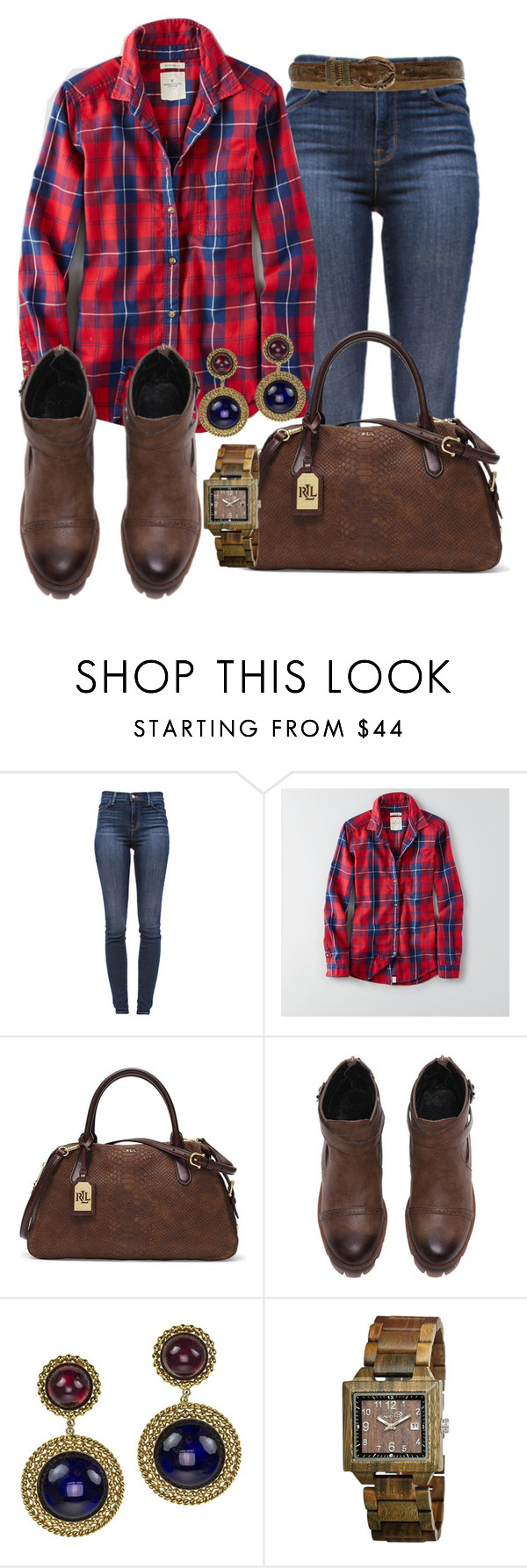 """""""casual"""" by alice-fortuna ❤ liked on Polyvore featuring J Brand, American Eagle Outfitters, Lauren Ralph Lauren, Chanel, Earth and Nanni"""