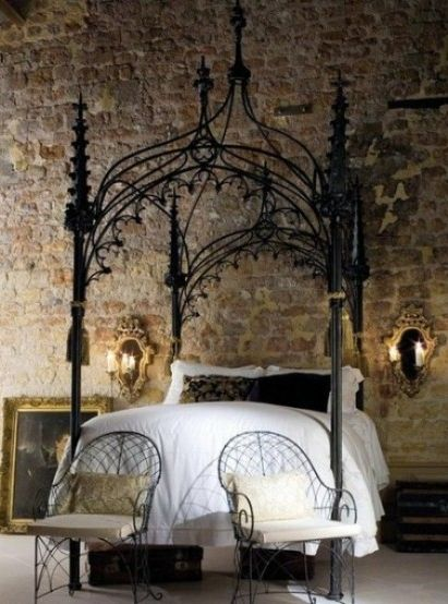 Medieval Inspired Bedroom 3 Modern Bedroom Decor Gothic