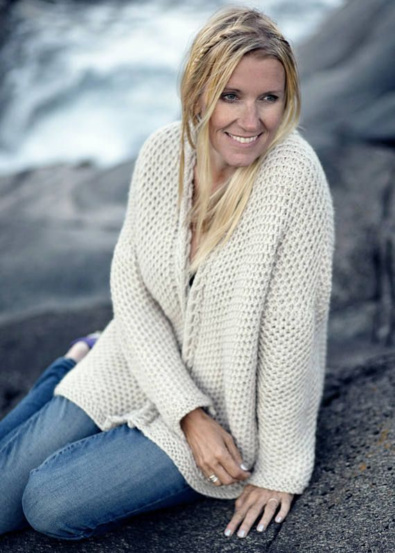Love this pattern. So cozy. KNITTING PATTERN - Late Summer Cardigan ...