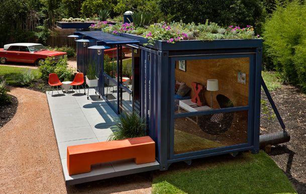 wohnen im seecontainer tiny houses haus und hof pinterest wohnen container und. Black Bedroom Furniture Sets. Home Design Ideas