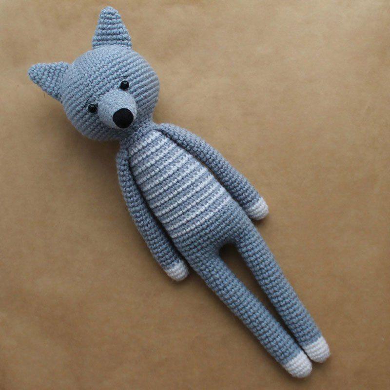 Patrón de ganchillo de juguetes gratis de amigurumi   Perros ...