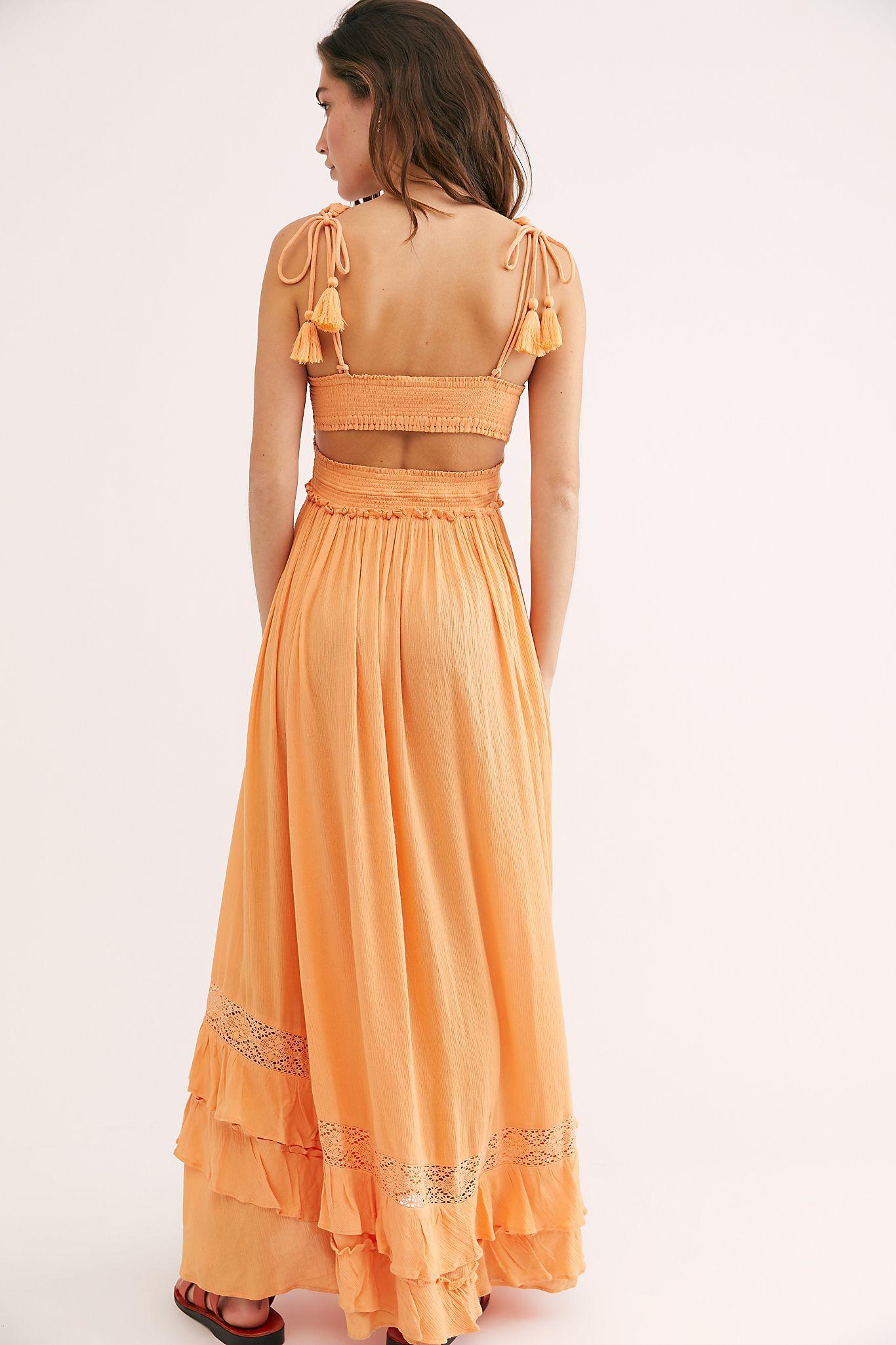 Santa Maria Maxi Dress Free People Maxi Dress Dresses Boho Chic Fashion [ 2049 x 1366 Pixel ]