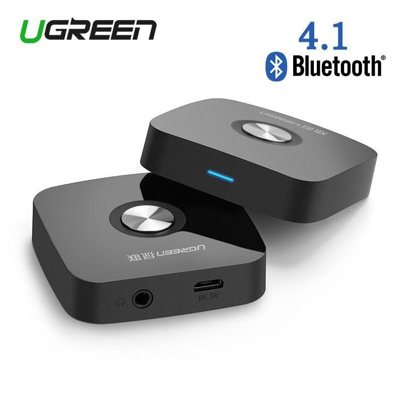 Ugreen Aptx Bluetooth 4.1 Receiver Audio 3.5mm Car Wireless Stereo Music Adapter