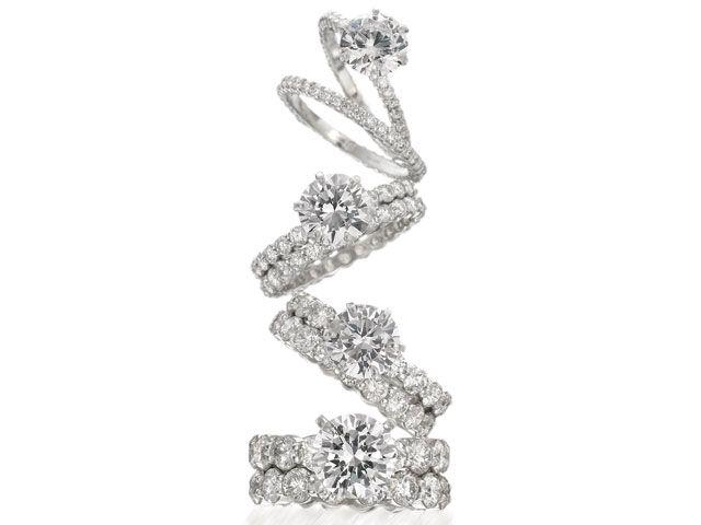 Memoire Rings Jewelry Atlanta Band Engagement Brown And Co Jewelers