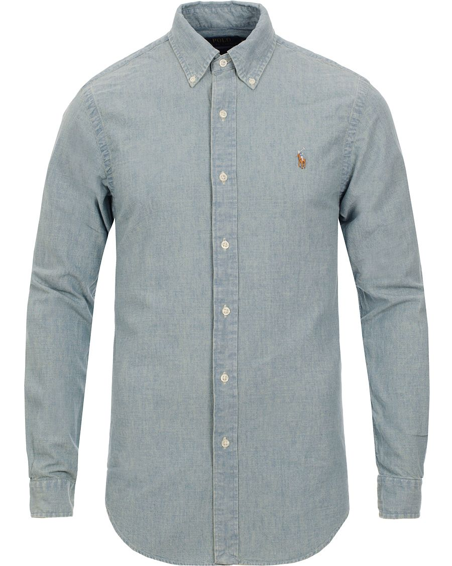 c048fc05ad2 Polo Ralph Lauren Slim Fit Chambray Shirt Washed i gruppen Skjortor hos  Care of Carl (10349511r)