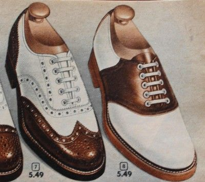 Saddle Shoes History 1920s To 1960s Vintage Glamour
