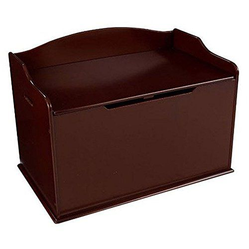 [Toy Storage For Kids] KidKraft Austin Wooden Toy Organizer Storage Chest  Box And Sitting