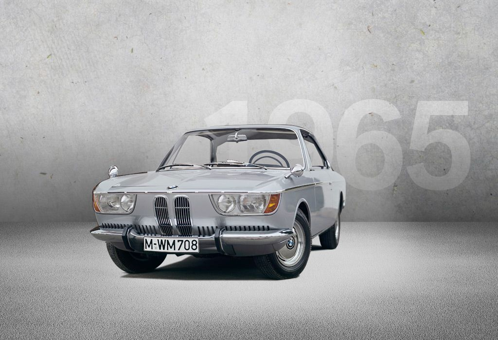 1965 - BMW 2000 CS - In June 1965, the BMW 2000 CS is presented as a ...