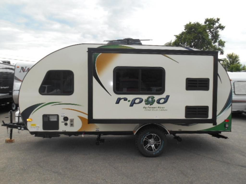2015 Forest River R Pod 179 20 Trailer Full Kitchen Shower