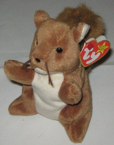 003f1ff9a26 NUTS THE SQUIRREL - Ty Beanie Baby (Beanies