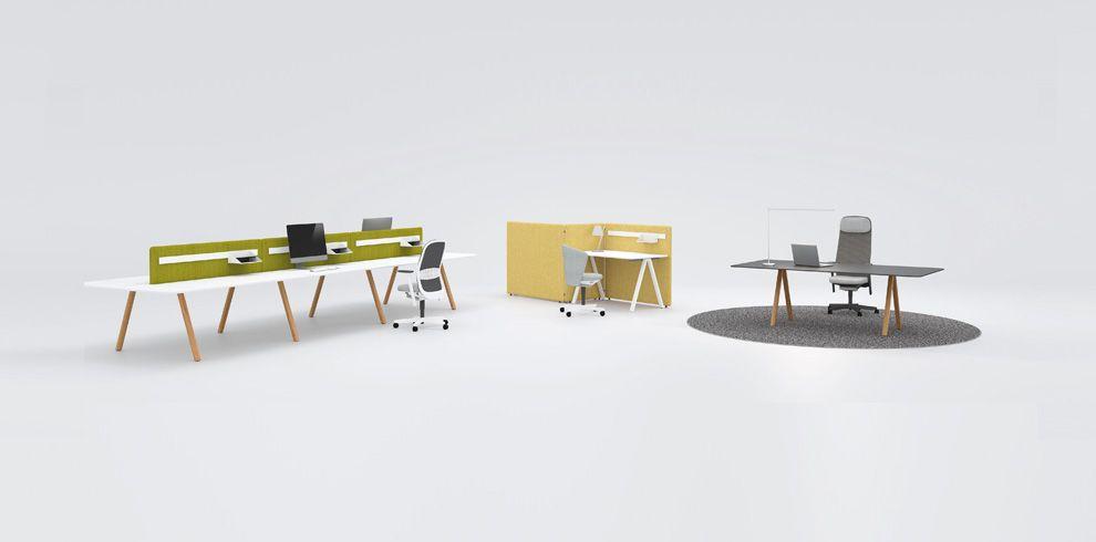 DELTA & T-PANEL - Bene Office Furniture | box | Pinterest | Office ...