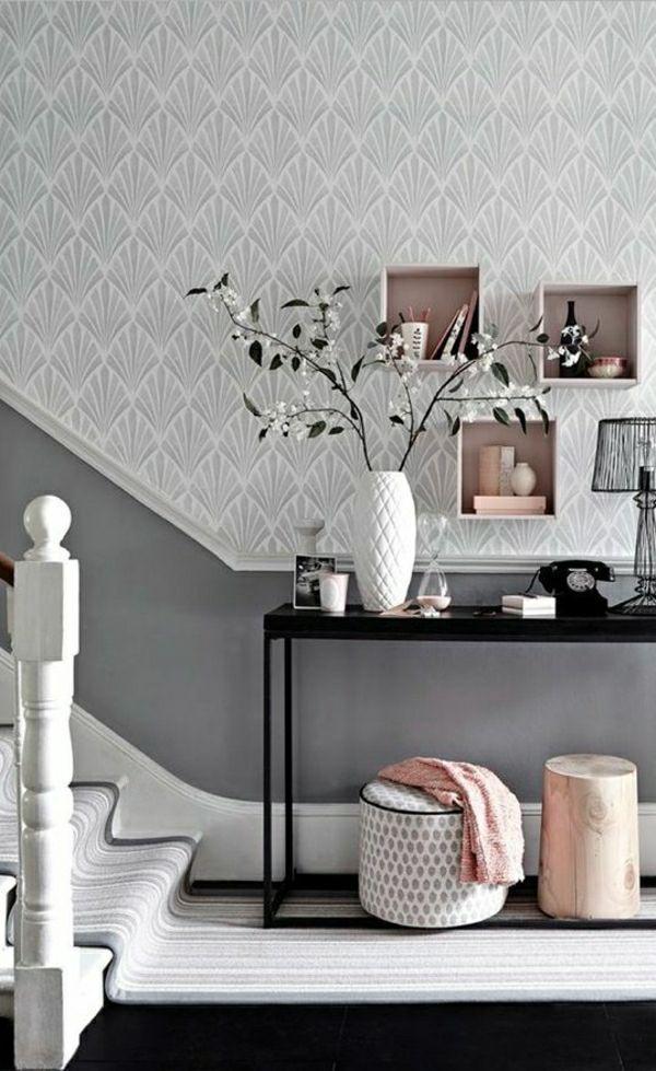 Trendige Tapeten - Ideen für jeden Raum! - Archzine.net  #archzine #ideen #jeden #tapeten #trendige #flurgestalten