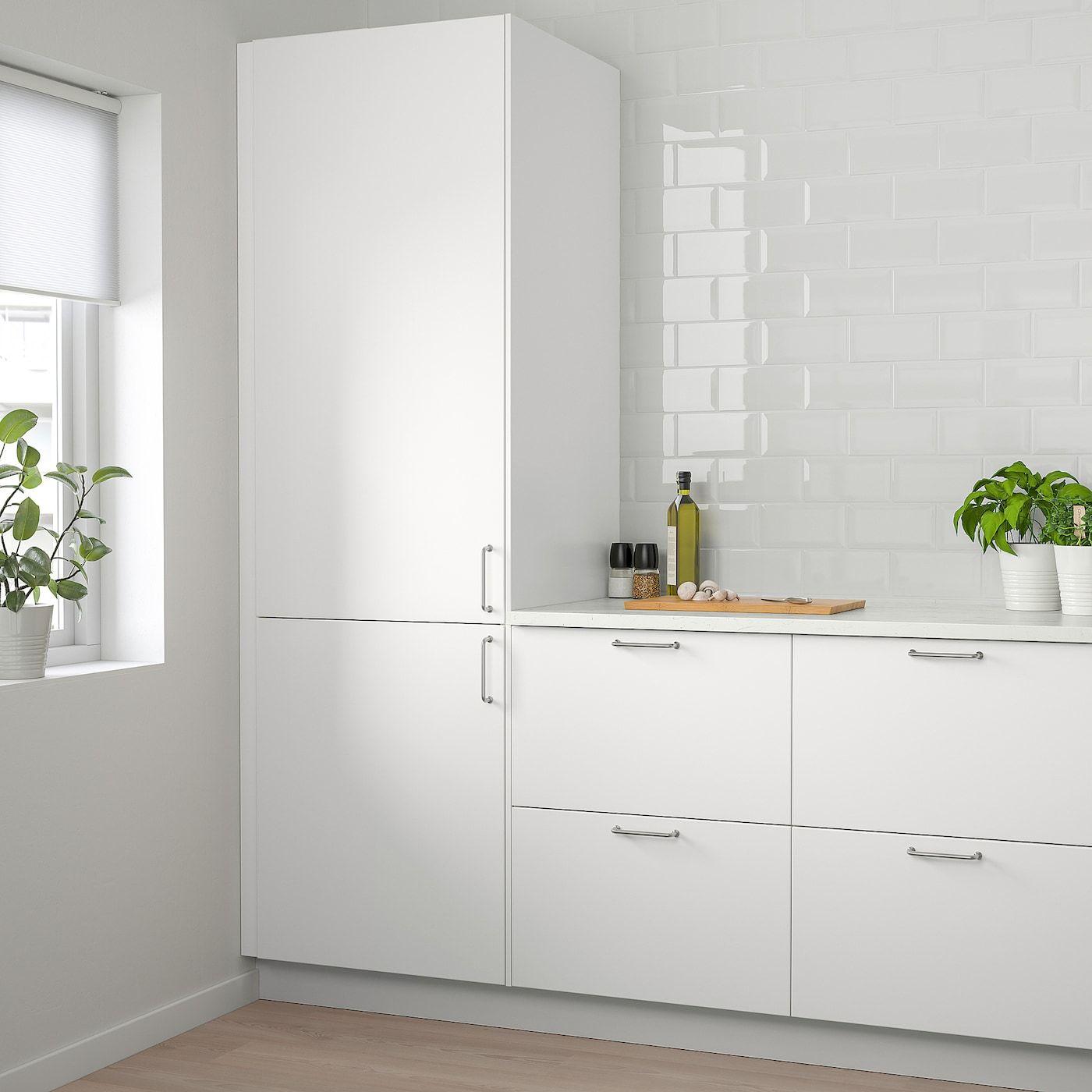 Veddinge Door White 15x60 In 2020 Popular Kitchen Designs Modern Kitchen Doors Kitchen Design