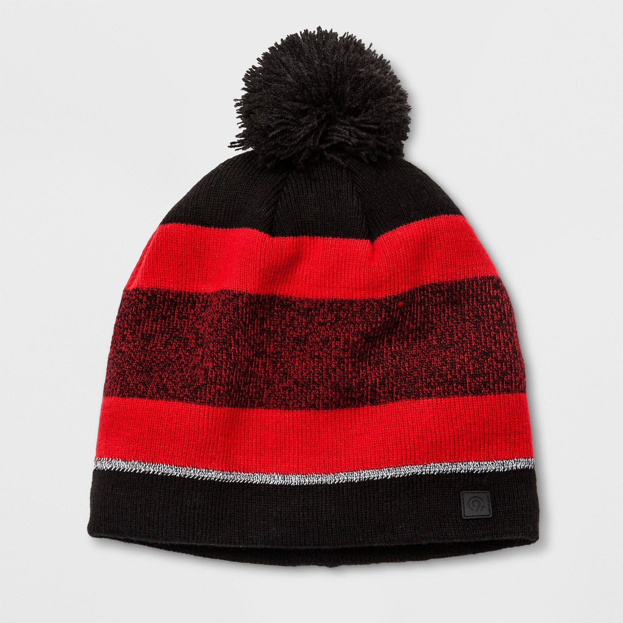 02a8b049b4be7 Boys  Pom Stripe Beanie - C9 Champion Red One Size