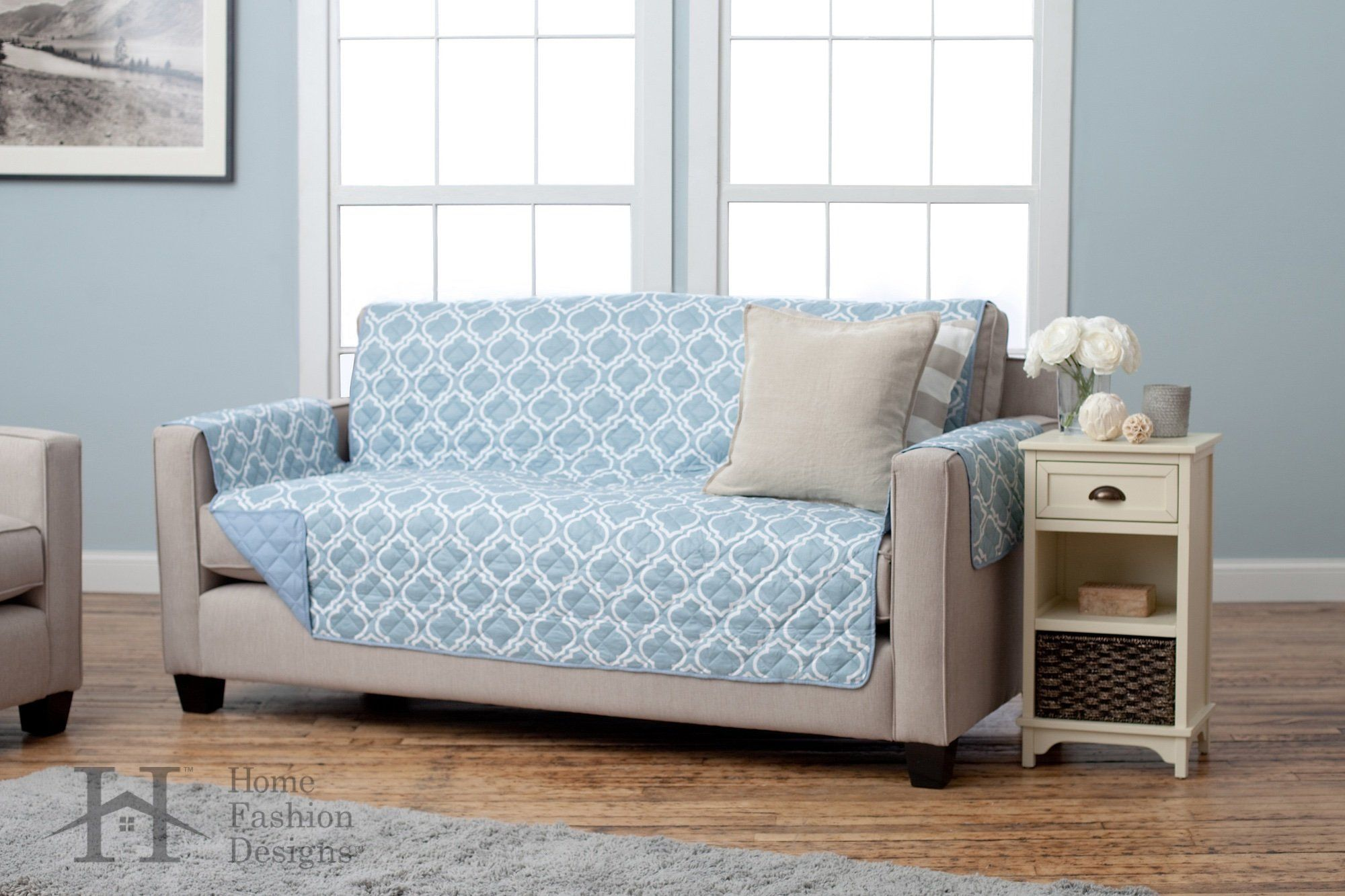 Adalyn Collection Deluxe Reversible Quilted Furniture Protector