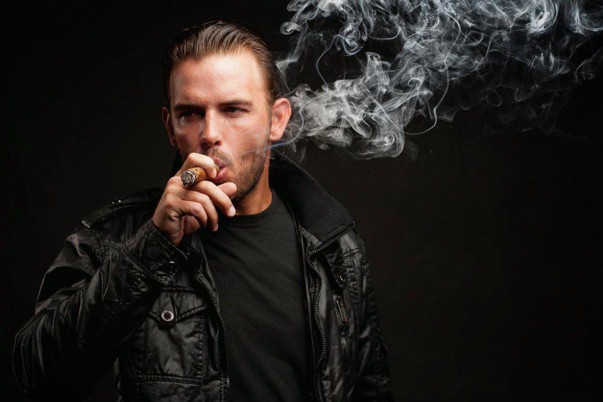 Cigar man smoking hunk | Cigar men lads | Pinterest