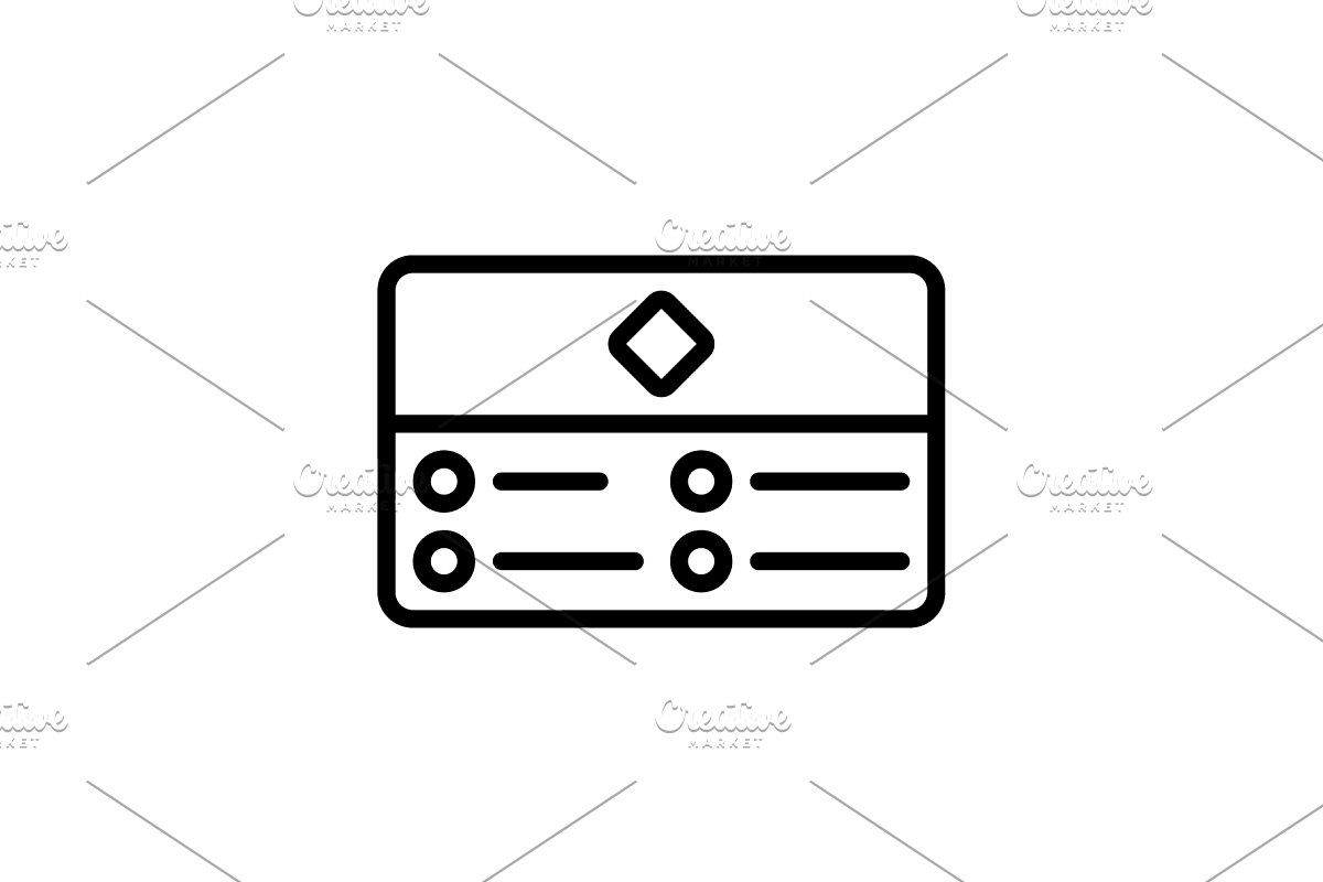 Business Card Icon In 2020 Business Card Icons Cards Business