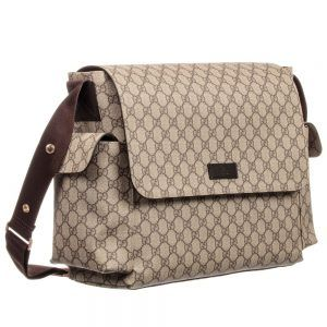 35d7b2792 Gucci – Beige GG Changing Bag (44cm) | Designer Changing Bags | Baby ...