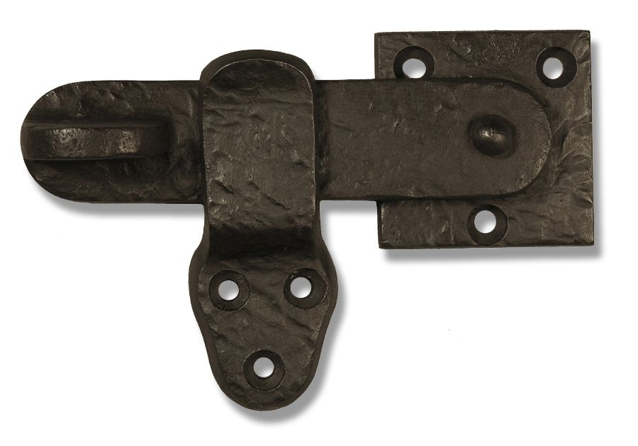 This Beautiful And Simple Flip Latch Is A Nice Way To Latch A Gate This Is A Single Sided Gate Latch Operable