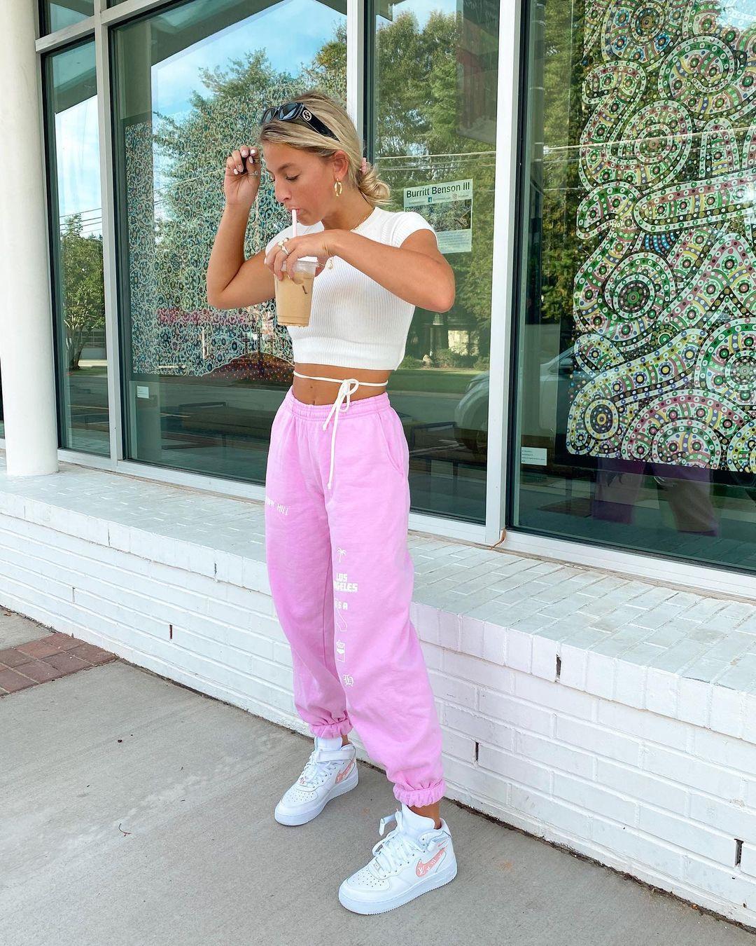 """natalie zacek on Instagram: """"straw, kicks, & sweat"""
