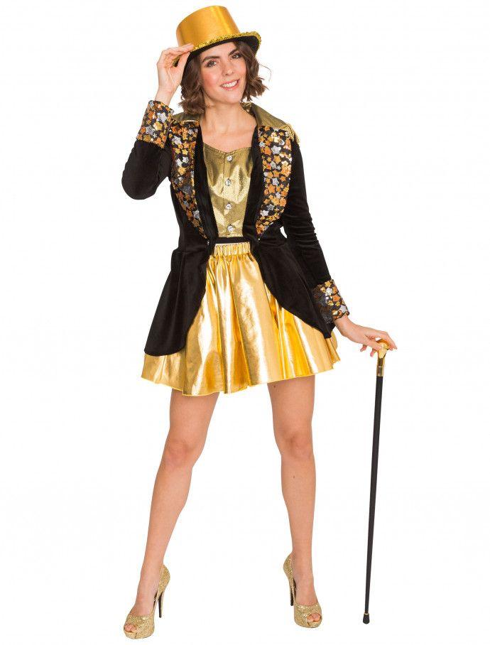 18a21e1579b61e Showmantel Star Damen schwarz für Karneval   Fasching » Deiters  Mantel   Frack  showgirl