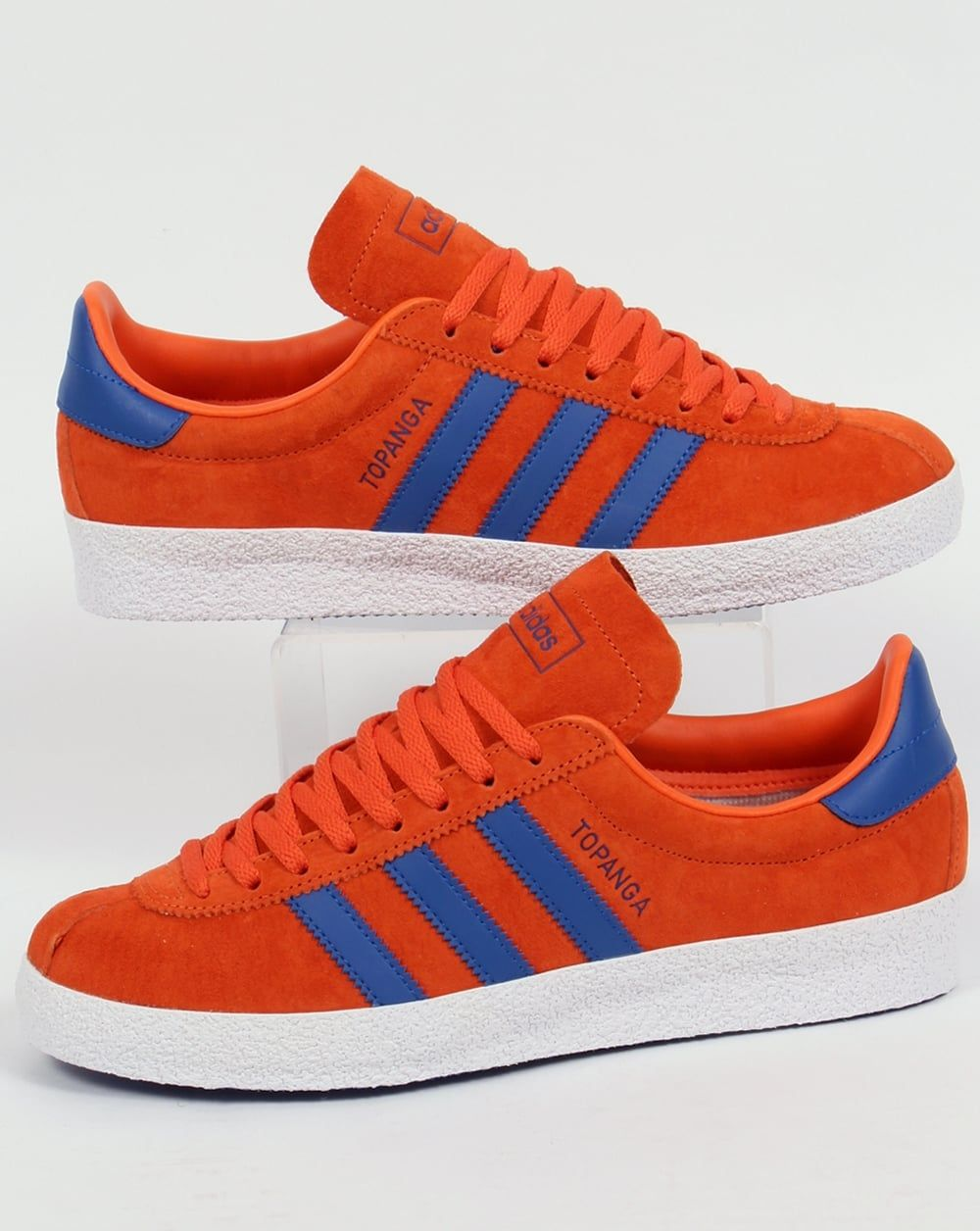 new concept ad534 85960 Adidas Topanga Trainers Craft Orange Royal Blue,originals,shoes,mens, sneakers